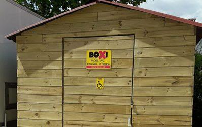 Sanitario de madera Boxi