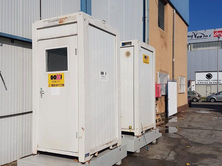 Sanitario modular Boxi