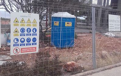 Sanitarios portatiles Construccion Boxi Alicante y Denia