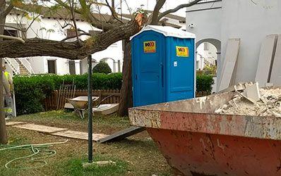 Sanitarios portatiles Construccion Boxi Mallorca