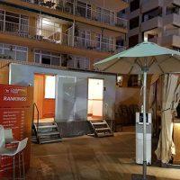 Sanitarios portatiles VIP Boxi Ibiza