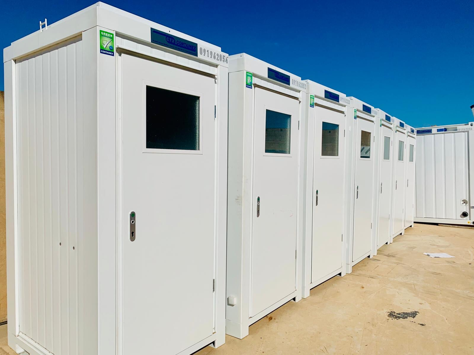 Boxi Sanitarios modulares